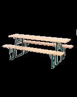 bierbank 220*25 cm EXCLUSIEF tafel