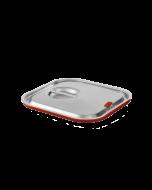 Gastronorm deksel 1/6 met siliconenafdichting