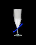 Evenementglas champagneflute 12cl polycarbonaat