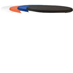 Kleed Voor Statafel.Stretch Tafelblad Cover Tbv Statafel Kleed In De Kleuren Oranje Blauw Wit Zwart En Champagne