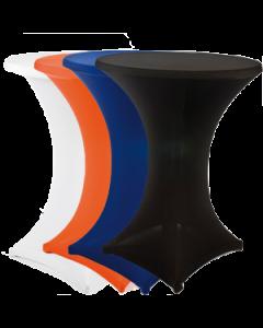 Stretch statafelkleed strak model zwart