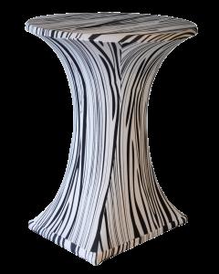 Stretch statafelkleed Zebra