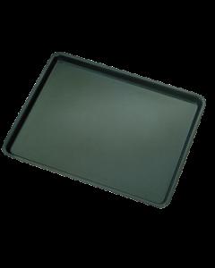 Inlegbakplaat 40 cm x 60 cm zwart