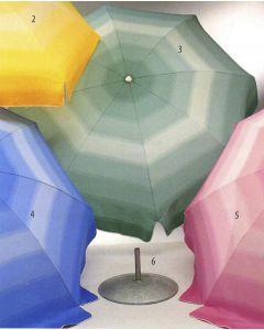 parasol blauw Ø 200 cm
