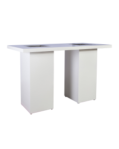 Statafel XL ijsbak White Line 180 x 82 x 110 cm