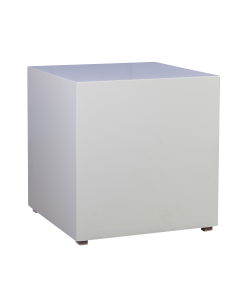 Bijzet tafel White Line 50 x 50 x 50 cm