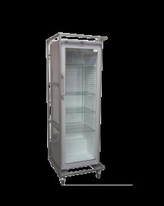 Glasdeur koelkast 550 Ltr. inclusief roosters met frame