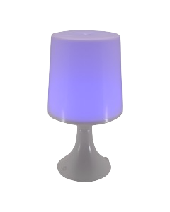 Led tafellamp verschillende kleuren (ex. batterijen)