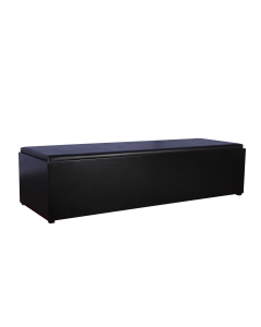 Lounge Bank Black Line afmeting 190*40*40 cm