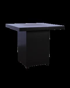 Salon tafel Black Line afmeting 80*80*80 cm