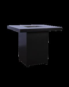 Salon Tafel Black Line ijsbak afmeting 80*80*80 cm