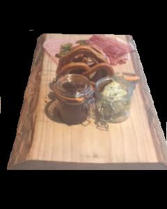 Houten Snij / Presentatie plank in natuurlijke vorm