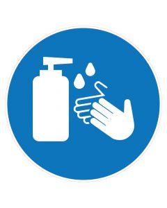 Desinfectiemiddel per liter