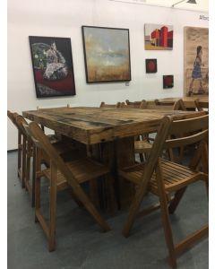 Vintage tafel 214x80x76 cm