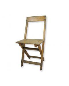 Bistro klapstoel van Stokkum hout vintage