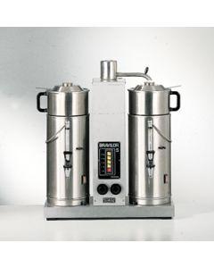 Koffiezet apparaat 2*5 ltr inclusief 2 containers en filtersets 230 Volt 3340 Watt 5 A