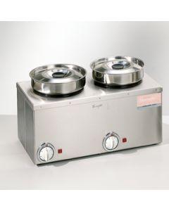 sauswarmer 2 pots 2 * 4,5 liter
