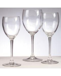 rode wijnglas 24 cl luxe