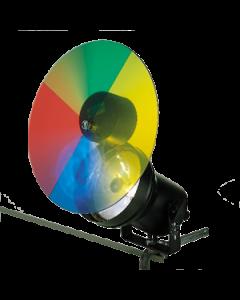 puntspot met kleurenschijf