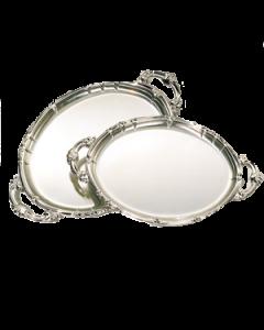 ovale schaal barok 60 * 48 cm