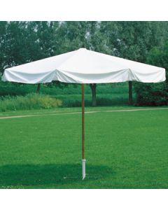parasol ecru diameter 275 cm incl. paal