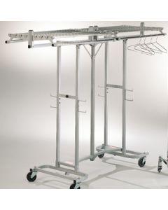 Luxe garderoberek inklapbaar tbv 100 hangers