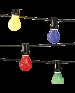 prikkabel 10 meter inclusief 12 heldere LED lampen