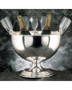 zilveren champagne bol tbv 4 flessen