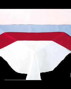 Tafellaken Wit, Blauw, Roze, Geel, Groen, Rood 240 x 240 cm