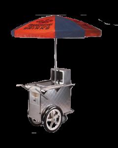 Hotdog kar RVS inclusief  Aubainmarie