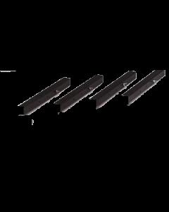 Set poten (4) tbv podiumelement 60 cm