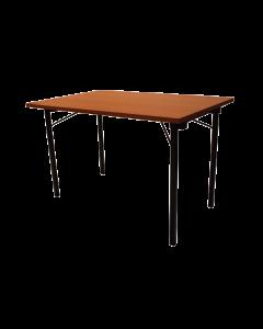 tafel rechthoekig bruin 120 *75 cm