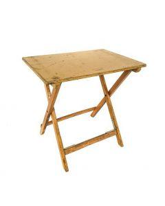 Bistrotafel van Stokkum hout vintage