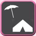 Parasol en Tent